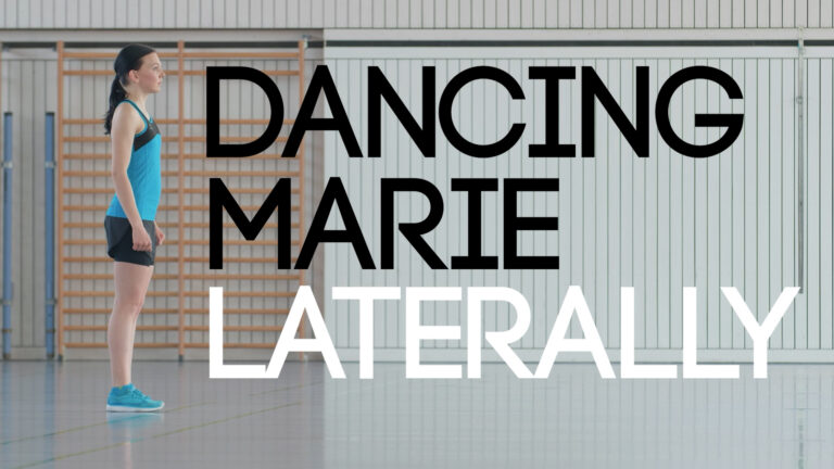 Dancing Marie Laterally