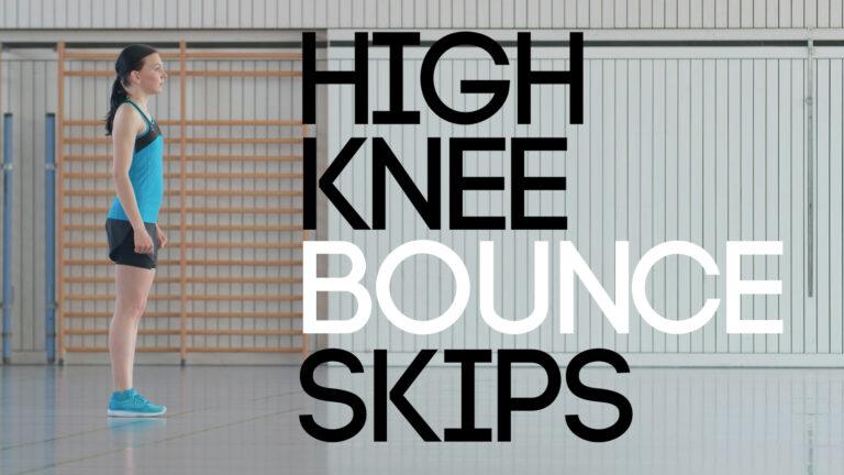 High Knee Bounce Skip