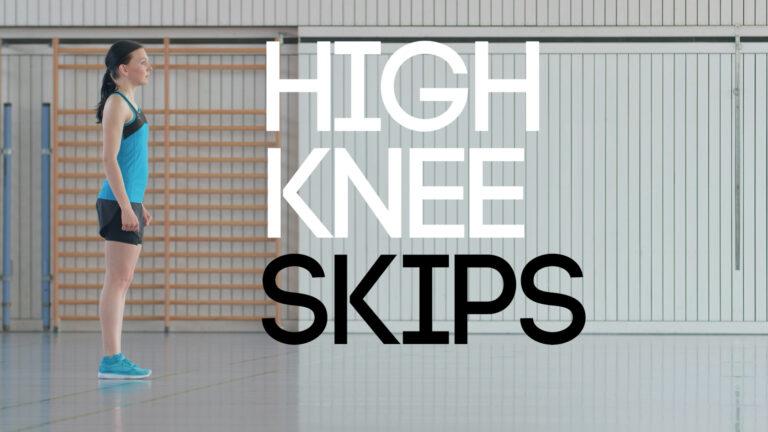 High Knee Skips