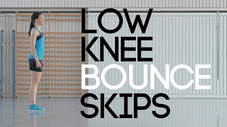 Low Knee Bounce Skips